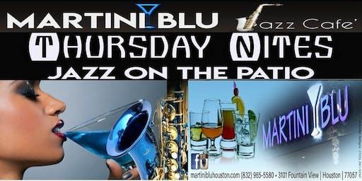 Martini Blu Jazz Cafe: Jazz & Poetry on the Patio FREE ENTRY / FREE PARKING