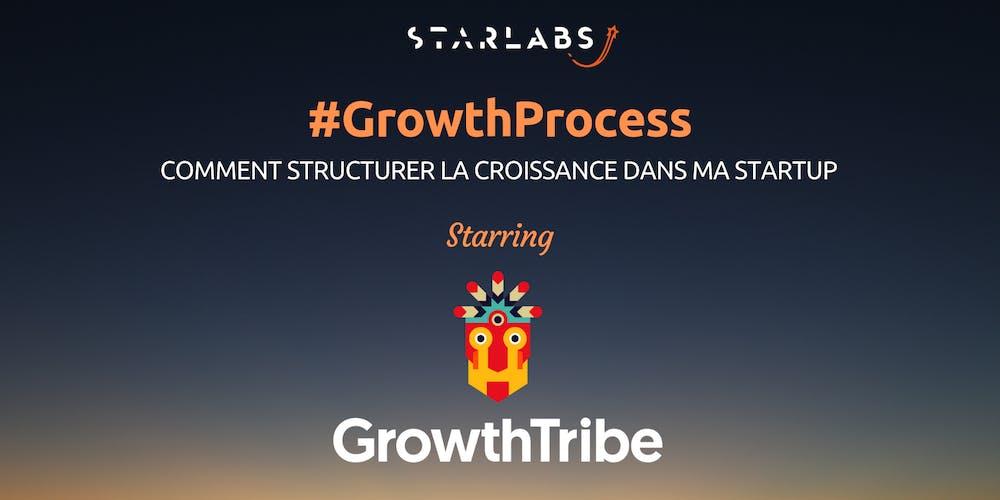 #GrowthProcess: Comment Structurer la Croissance de ma Startup @ Pépinière de Sannois