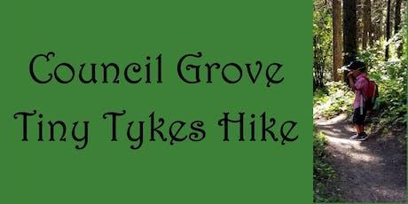 Tiny Tykes Hike Second Walk  tickets