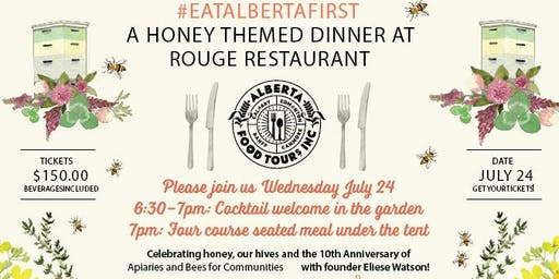 Alberta Food Tours, Inc presents: An #EatAlbertaFirst Dinner featuring Rouge Restaurant
