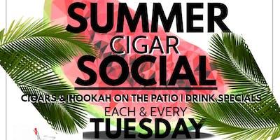 Summer Cigar Social Hosted By Lucky So Lovely