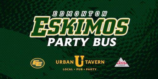 Urban Tavern's Edmonton Eskimos Party Bus