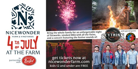 Nicewonder 4th at the Farm tickets