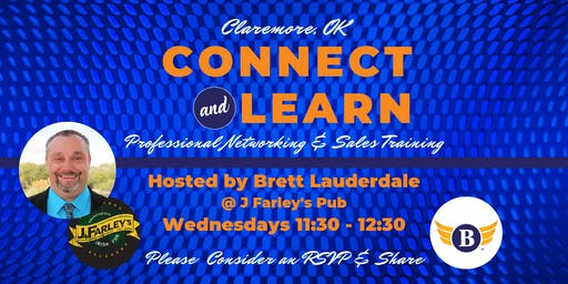 Claremore, OK: Connect & Learn | Professional Networking and Sales Training