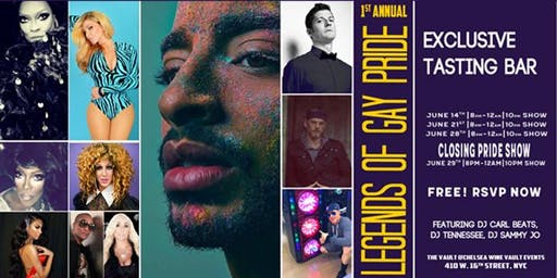 Legends of Gay Pride Closing Party with Laith Ashley - 6.29.19