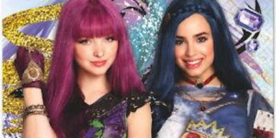 """Halloween"" Tea With Descendants, ""Mal and Evie"""