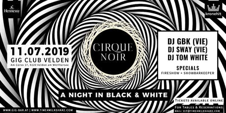 MILKSHAKE - CIRQUE NOIR - WHITE NIGHTS SPECIAL // GIG CLUB VELDEN Tickets