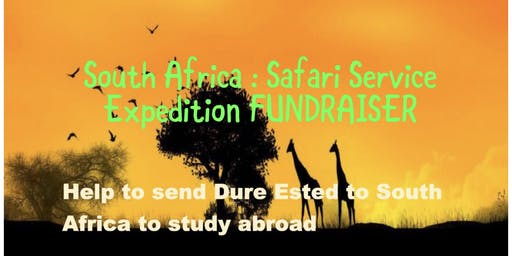 South Africa Safari Service Expedition Fundraiser