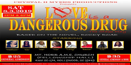Love Is A Dangerous Drug, The Stage Play tickets