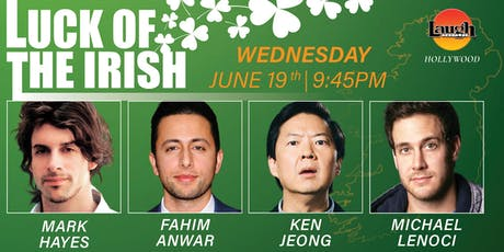 Ken Jeong, Fahim Anwar, and more - Luck of the Irish! tickets