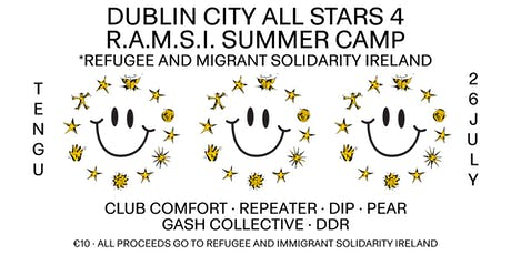 Dublin City All Stars 4 R.A.M.S.I. Summer Camp tickets