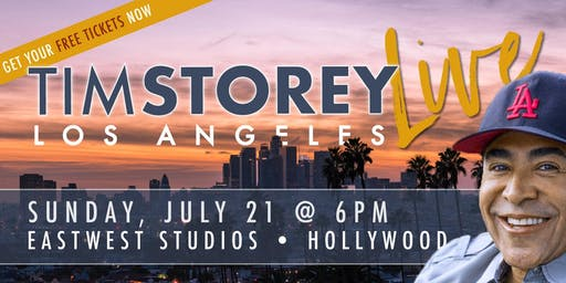 Tim Storey LIVE • Los Angeles, CA