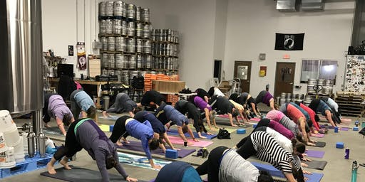 Yoga & Beer at Fair Winds