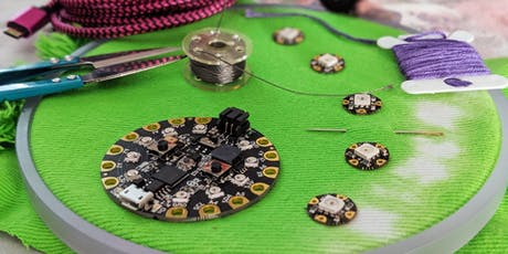 DIY Wearables: Sewing LEDs (Basic Electronics) tickets