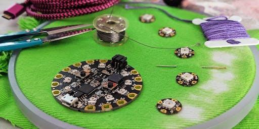 DIY Wearables: Sewing LEDs (Basic Electronics)