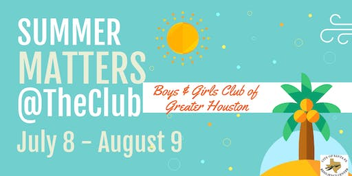 Summer Matters- Boys & Girls Club