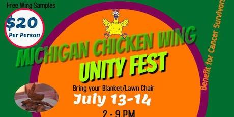 "Michigan Chicken Wing ""Unity"" Festival tickets"