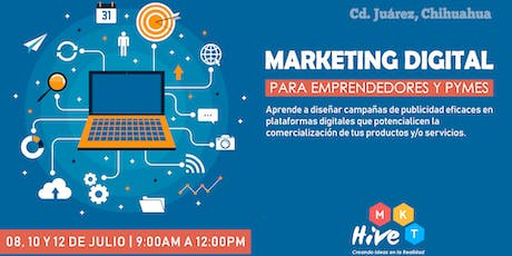 Marketing Digital para Emprendedores y Pymes entradas