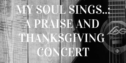 My Soul Sings...