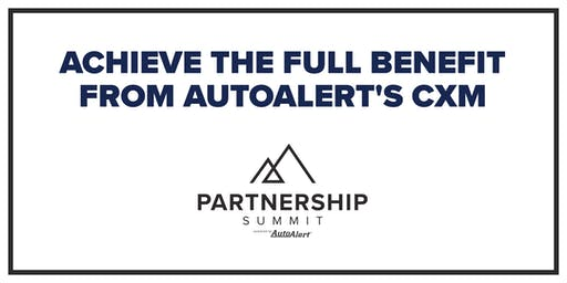 AutoAlert Partnership Summit