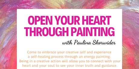 Open Your Heart Through Painting tickets