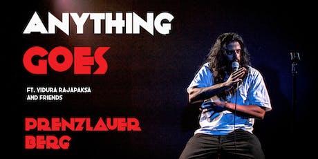 English Standup in Prenzlauer Berg - Anything Goes with Vidura Rajapaksa tickets