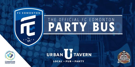Urban Tavern's FC Edmonton Party Bus