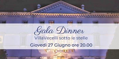 Gala Dinner - Villa Vecelli sotto le Stelle biglietti