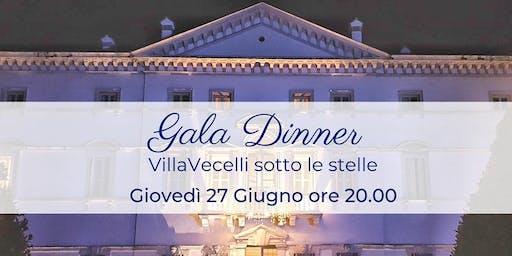 Gala Dinner - Villa Vecelli sotto le Stelle