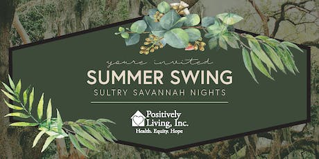 "Summer Swing 2019 - ""Sultry Savannah Nights"" at the Knoxville Botanical Gardens tickets"