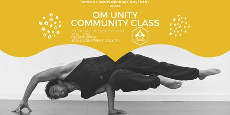 OM Unity Community Movement Class with Nelson Solis tickets