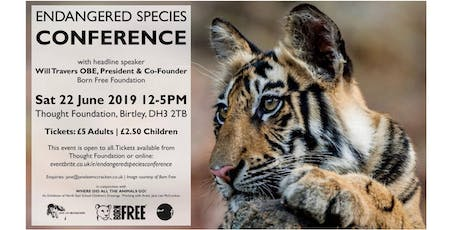 Endangered Species Conference tickets