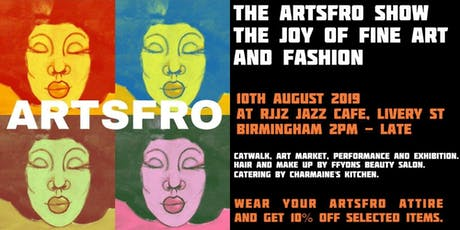 The ArtsFro Show tickets