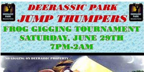2019 JUMP THUMPERS FROG GIGGING TOURNAMENT tickets