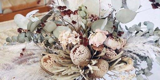 SEPT 5 | Beginner Vase Floral Design, Incorporating Dried Florals