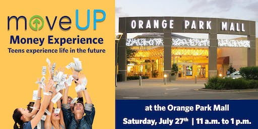moveUP Money Experience for Teens at the Orange Park Mall.