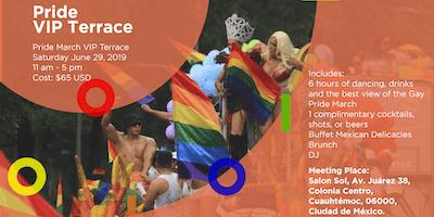 Pride March International VIP Terrace