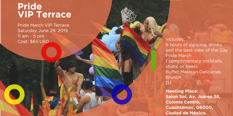 Pride March International VIP Terrace boletos