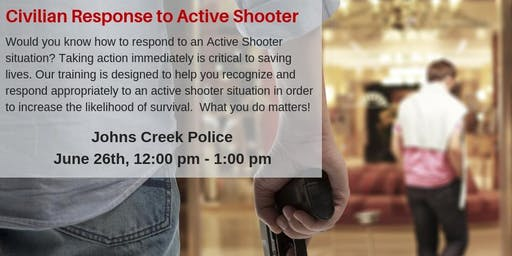 Civilian Response to Active Shooter C.R.A.S.E (ALERRT)