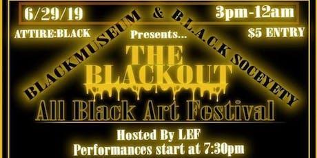 The Black Musem Art Festival  tickets