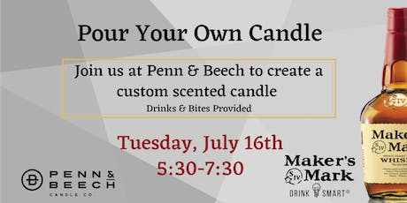 Pour Your Own Candle tickets