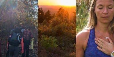 Hike, Yoga, + Meditation with Awake Minds and Backcountry Yoga