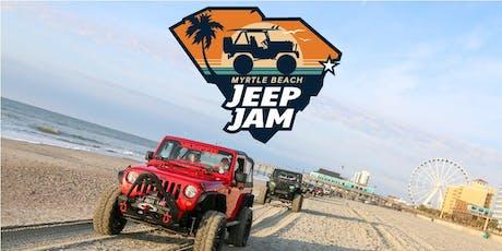 Myrtle Beach Jeep Jam 2020 tickets