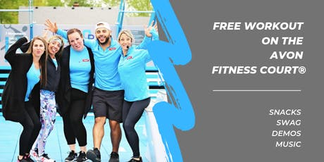 Free Workout Class on the Avon Fitness Court! tickets