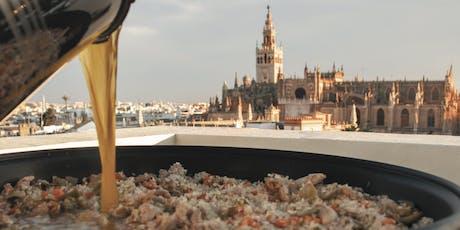 LiveCooking Paella in hidden rooftop entradas