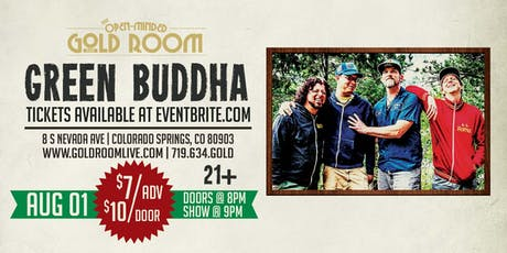 Green Buddha Live at the Gold Room tickets