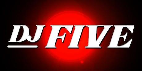DJ Five at Tao Free Guestlist - 7/05/2019 tickets