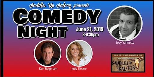 Comedy Night at Saddle Up Saloon - Kingston NH