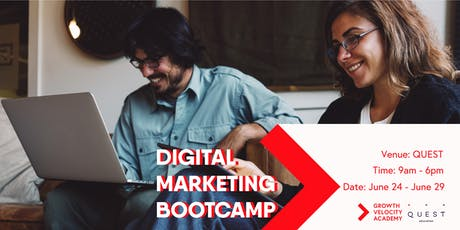 One Week Intensive Digital Marketing Bootcamp tickets