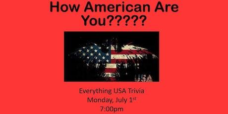 Everything USA Trivia tickets